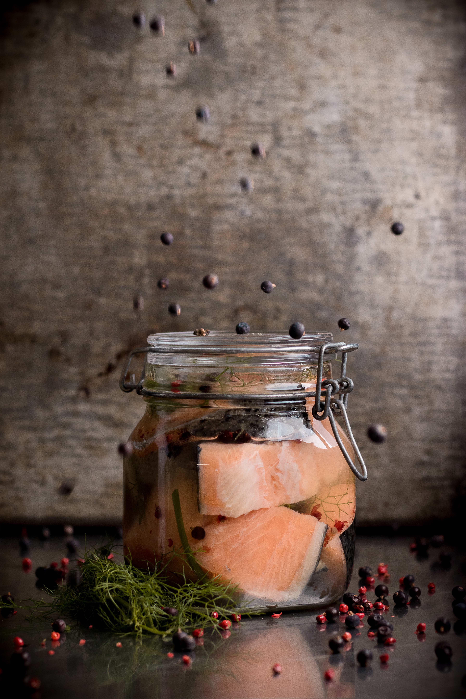 Salmone in salamoia foto Roberta Sorge